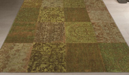 Vintage 8018 - Light Green Rug