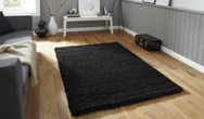 Vista - Plain 2236 Black Rug