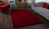 Vista - Plain 2236 Red Rug