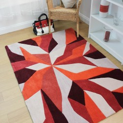 Eternity Vivid Orange Rug