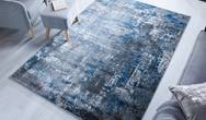 Cocktail Wonderlust Blue Grey Rug