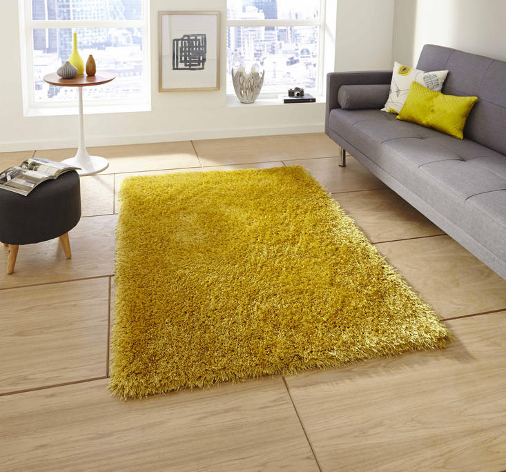 Monte Carlo Yellow Rug