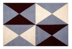 Concept Charlotte 03 Polygon Cream/Grey/Wine Rug