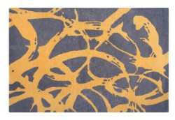 Concept Becci 03 Cezanne Light Grey/Ochre Rug
