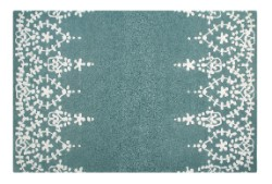 Concept Modern Chloe 03 Turquoise Cream Rug