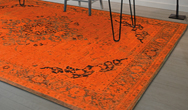 Heriz 8041 Burnt Orange Rug
