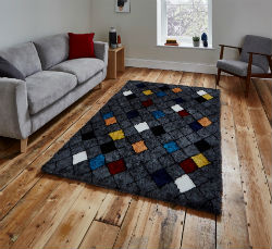 Broadway 1408 Grey Multi  Rug