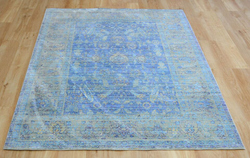 Aqua Silk e309b Blue Light Blue Rug