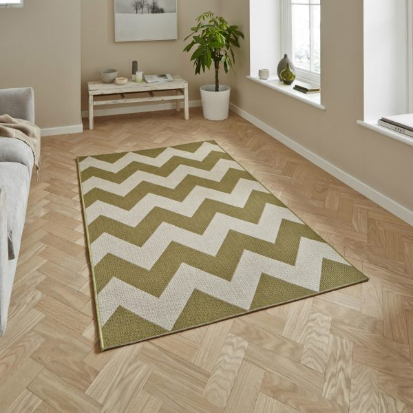 Cottage CT5191 Green Rug