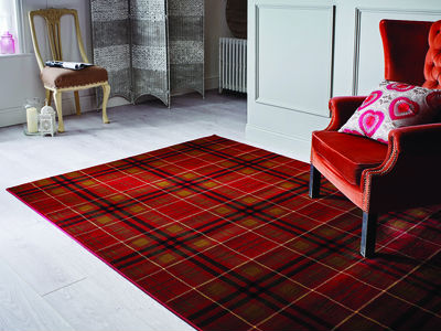 Glen Kilry Red Rug