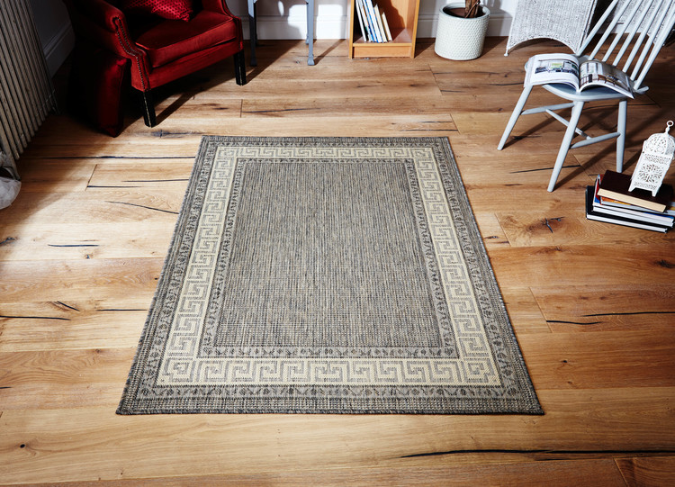Greek Key Flatweave Gr 1122 Rug