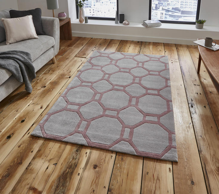 Nobel House 4338 Grey Rose Rug