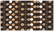 Harlequin Scroll/Dotty Dotty Brown - HA10-004 Rug