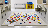Modern Harlequin Spacedust Rugs