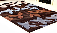 Harlequin Vine Vine Chocolate Blue - HA10-026 Rug