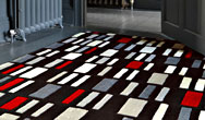 Harlequin Zip/Blocks Blocks Grey Red - HA10-040 Rug