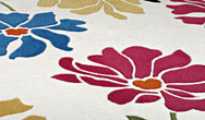 Harlequin Rose/Floral Scattered Foral Multi - HA10-043 Rug