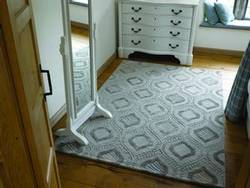 Mayfair Berkley Blue Ochre Rug