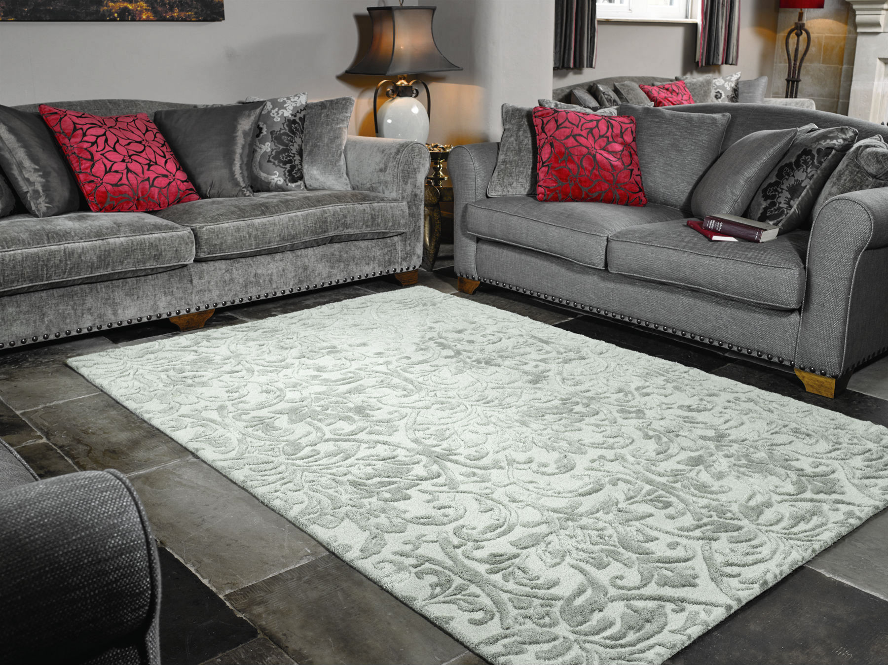 Nice Dorchester Grey Rugs