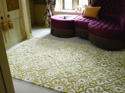 Mayfair Knightsbridge Gold Rug