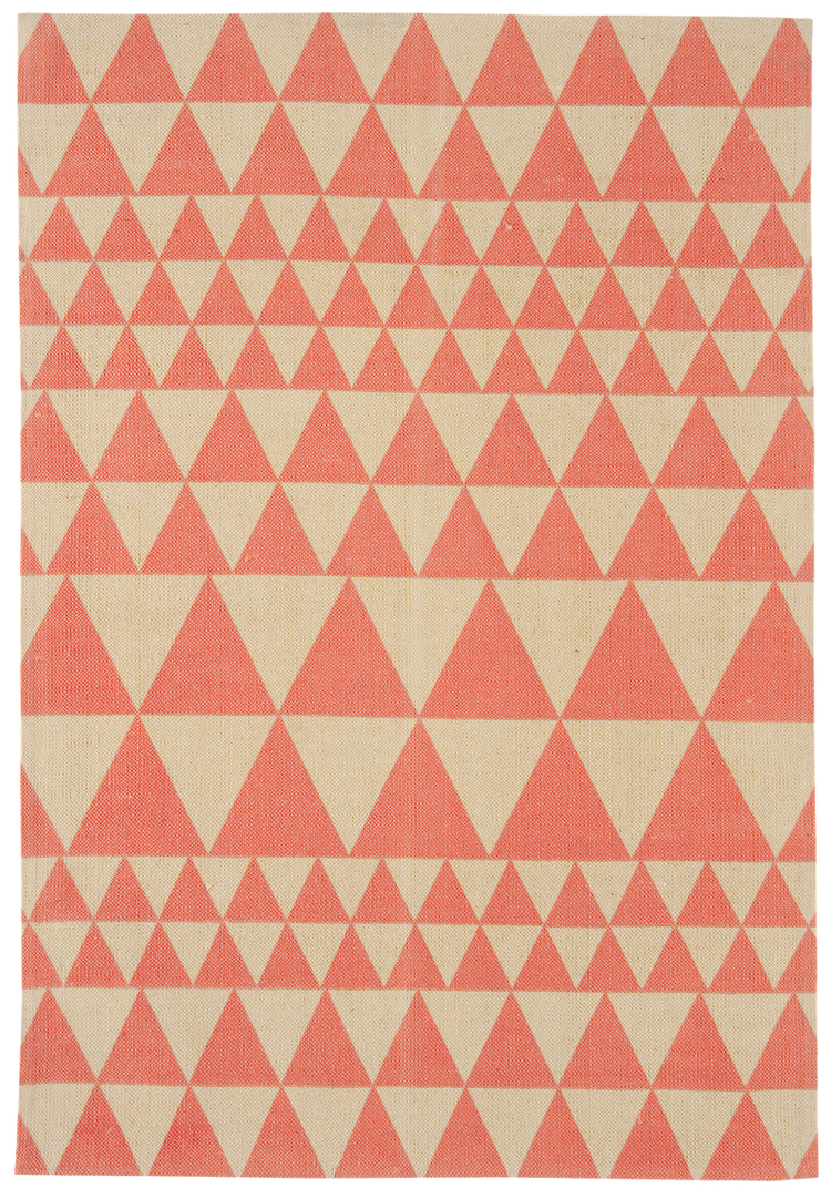 Onix Triangles Flame Rug