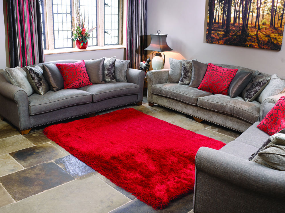 Pearl Red Rug