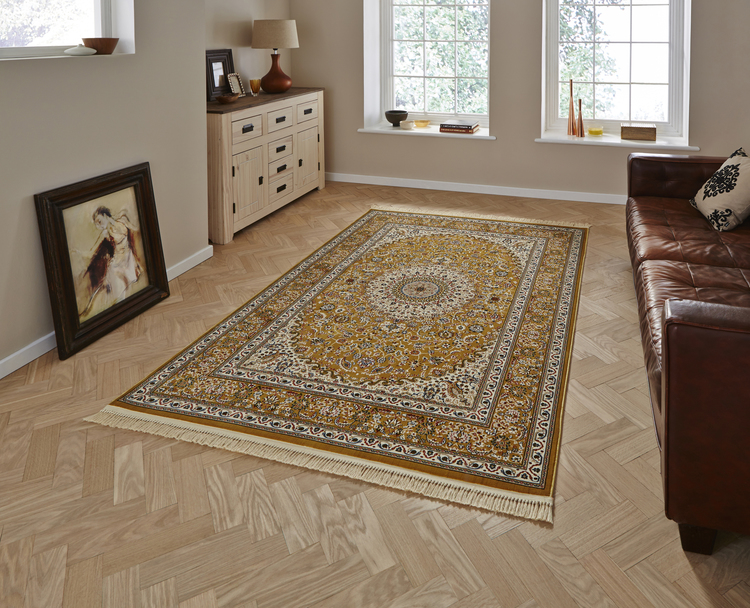 Regal 0227A Gold Cream Rug