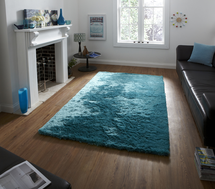 Sable Light Blue Rug