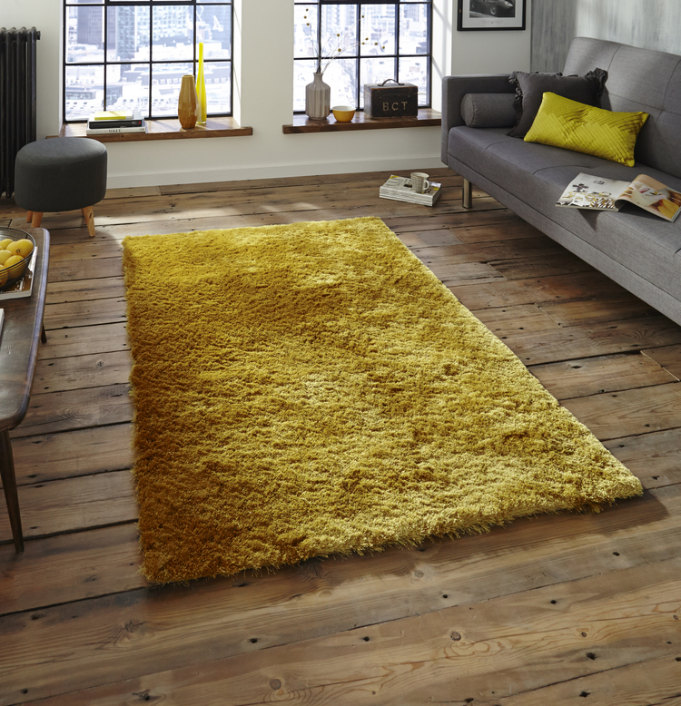 Sable Yellow Rug