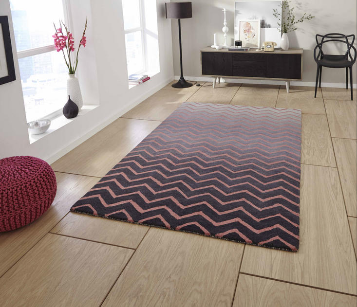 Spectrum SP22 Grey Pink Rug
