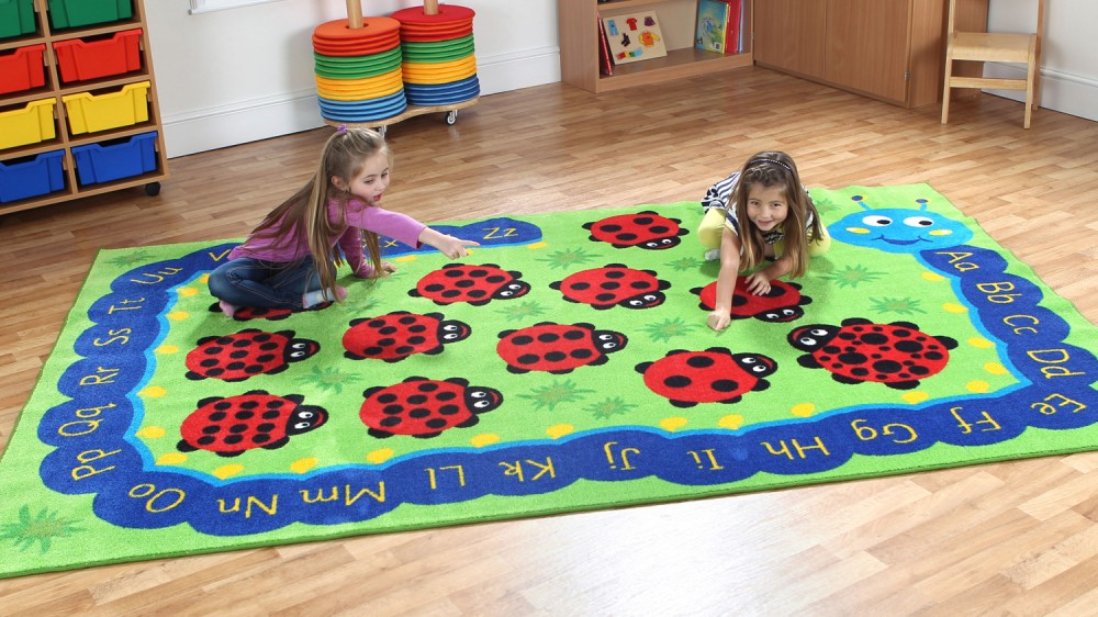 Placement Rugs Back to Nature™ Chloe Caterpillar  Rug