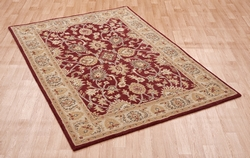 Agra Twist Red Rug