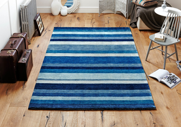 Winslow Stripes Blue Rug