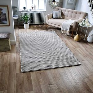 new Plaza shaggy Rug 1.2m x1.7m stock clearance carpet modern lounge brown mat