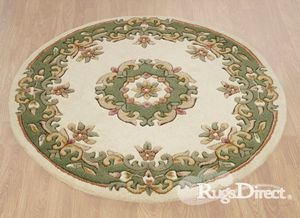 Royal Indian Cream-Green Rug