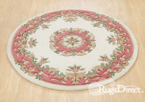 Royal Indian Cream-Rose Rug