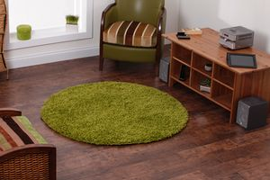 Vista - Plain 2236 Green Rug