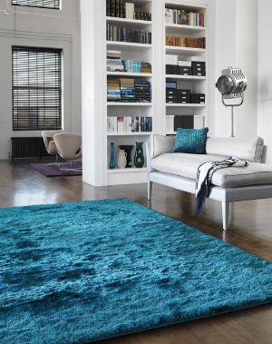 Whisper dark teal rugs buy dark teal rugs online from - Alfombras 200x300 baratas ...
