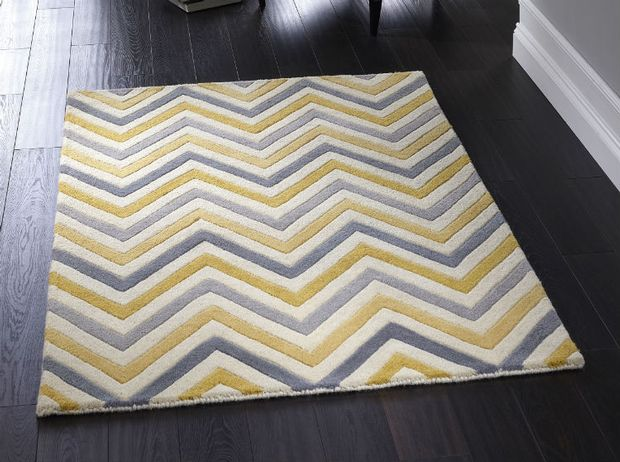 Cabone Yellow Grey Rugs Buy Yellow Grey Rugs Online From
