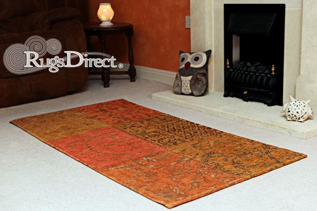 Buy Louis De Poortere Vintage 8010 Orange Rugs Buy 8010