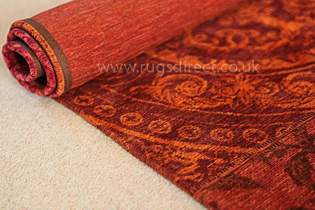 Buy Louis De Poortere Vintage 8103 Orange Purple Rugs