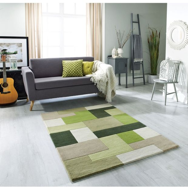 Lexus Green Rugs - Buy Green Rugs Online from Rugs Direct