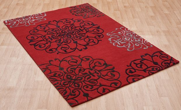 Tangier Matrix Max45 Red Rugs Buy Max45 Red Rugs