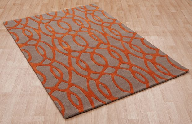 Wire Matrix Max37 Orange Rugs Buy Max37 Orange Rugs