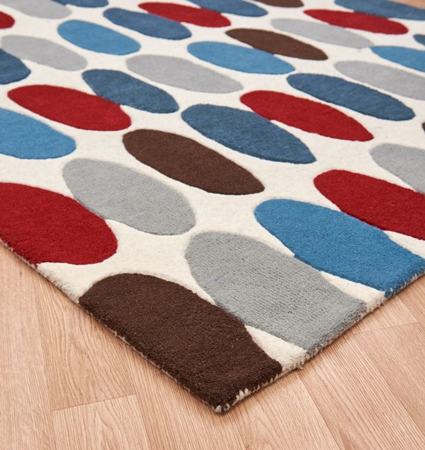 Sofia Matrix Max33 Red Teal Rugs Buy Max33 Red Teal