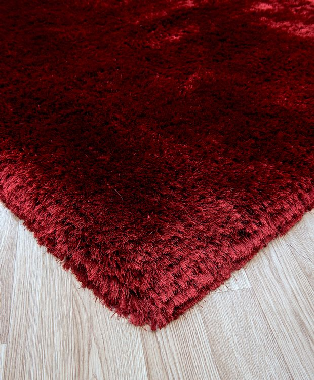 Buy Plush-Red Rugs Online From Rugs