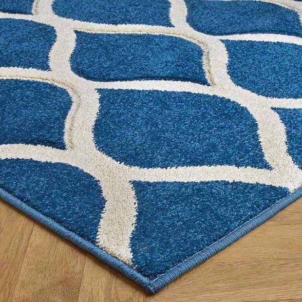 Buy 1095 L Blue Rugs Online