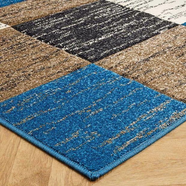 Buy 5503 L Blue Rugs Online
