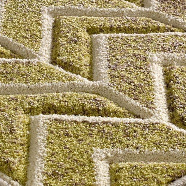 Portland 5603 F Green Beige Rugs