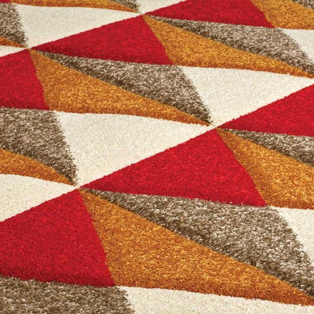 Buy 6994 R Red Rugs Online From